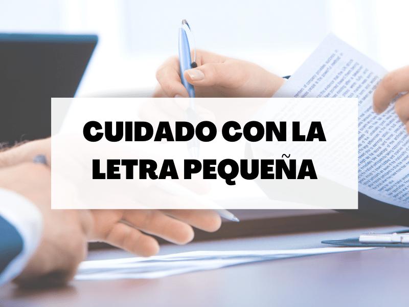 Exclusiones: La letra pequeña de los seguros
